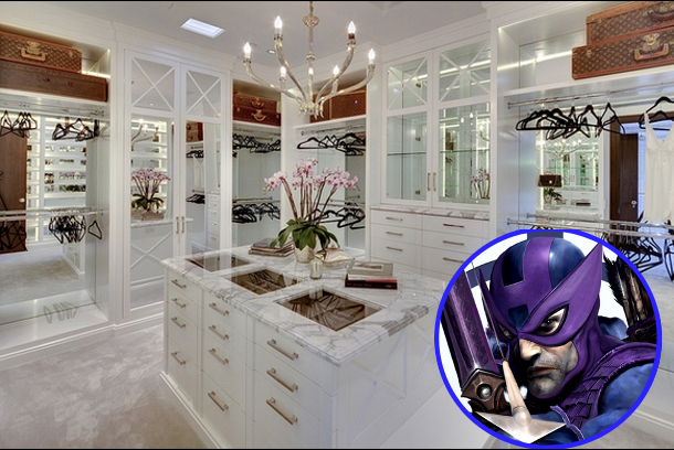 celebrity houses of the Avengers